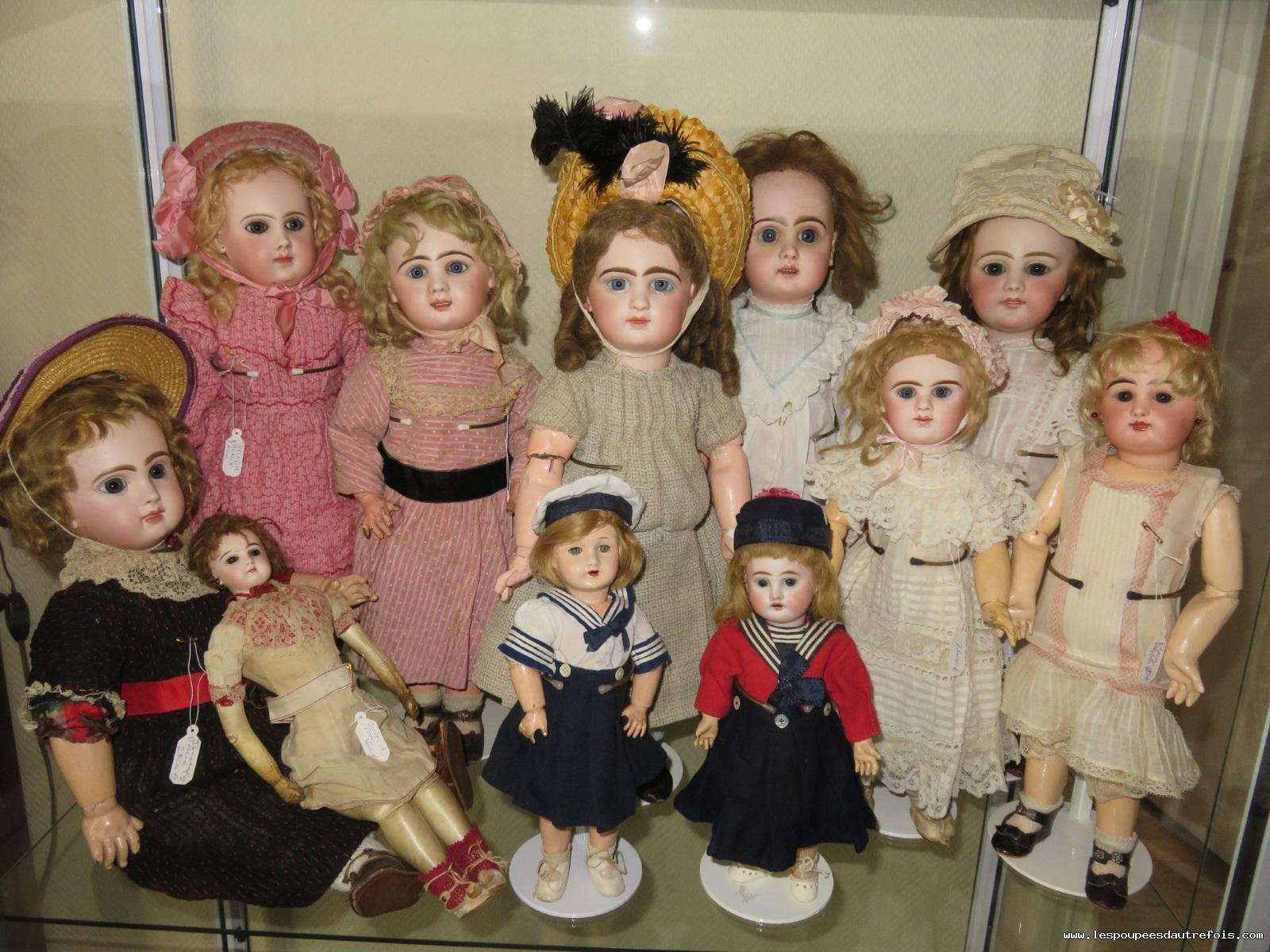 NEW DOLL WIG Size 14 DARK BROWN For JUMEAU Bru Steiner New Dolls LOVELY!~